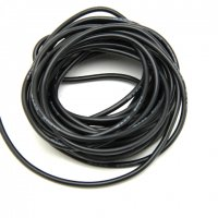 AWG Silicon Wire (10CM / 16# / Black) [03-175]