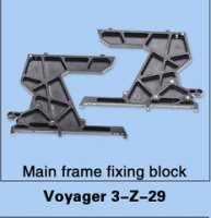 Walkera Voyager 3-Z-29 Main Frame Fixing Block