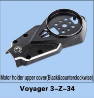 Walkera Voyager 3-Z-34 Motor Holder Upper Cover (Black & Counter-clockwise)