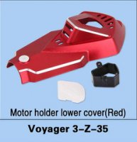 Walkera Voyager 3-Z-35 Motor Holder Lower Cover (Red)