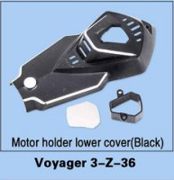 Walkera Voyager 3-Z-36 Motor Holder Lower Cover (Black)