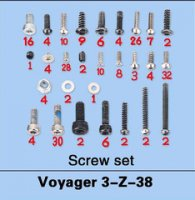Walkera Voyager 3-Z-38 Screw Set