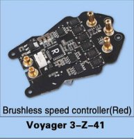 Walkera Voyager 3-Z-41 Brushless Speed Controller (Red)