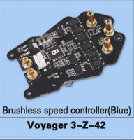 Walkera Voyager 3-Z-42 Brushless Speed Controller (Blue)