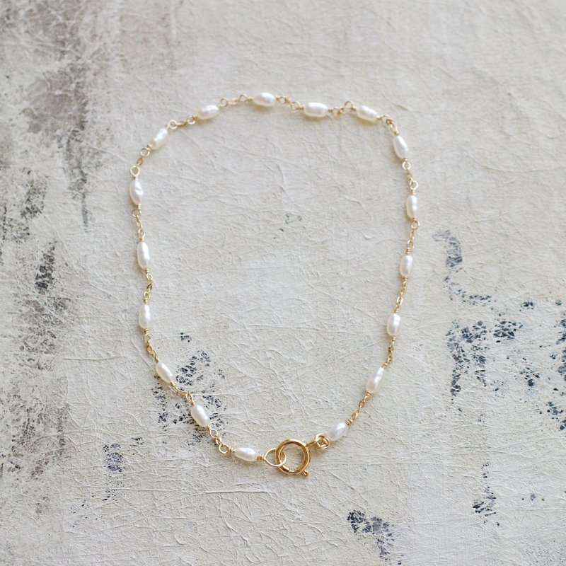 Tiny Pearl -rice(bracelet)