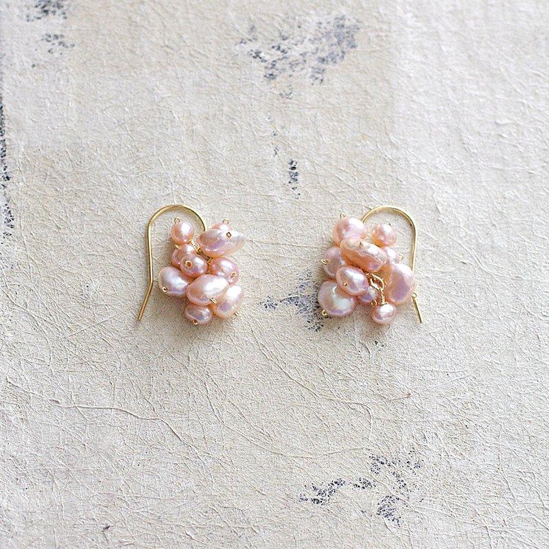 fusa : PinkPearl(earring)