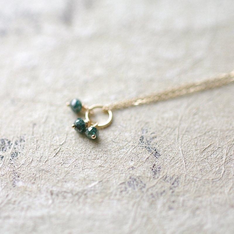 tsubu : Blue Diamond(necklace)