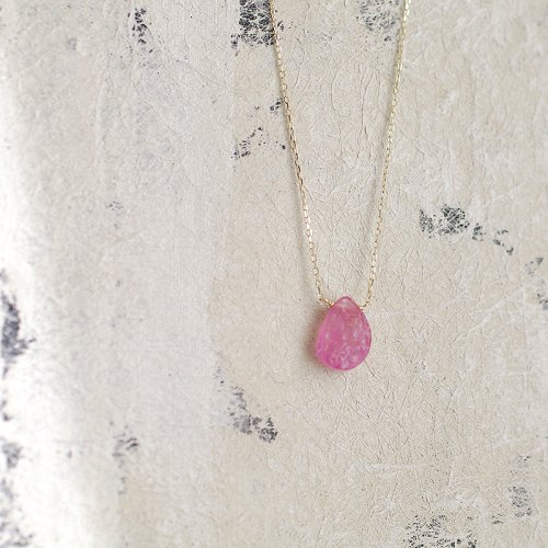 Namida ruby rough bnecklace accessories mozeypictures Image collections