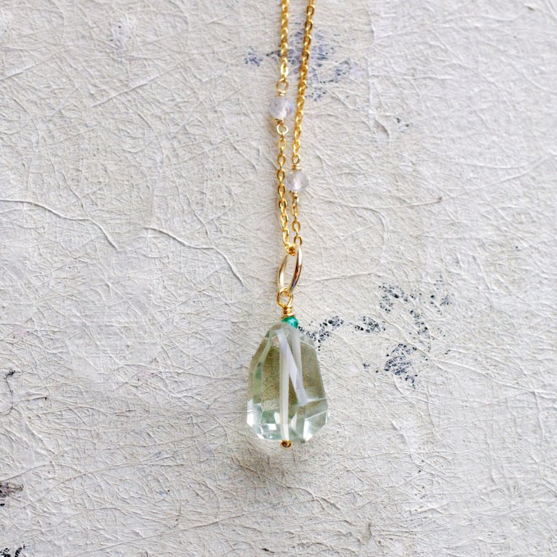 Green Amethyst(charms)4
