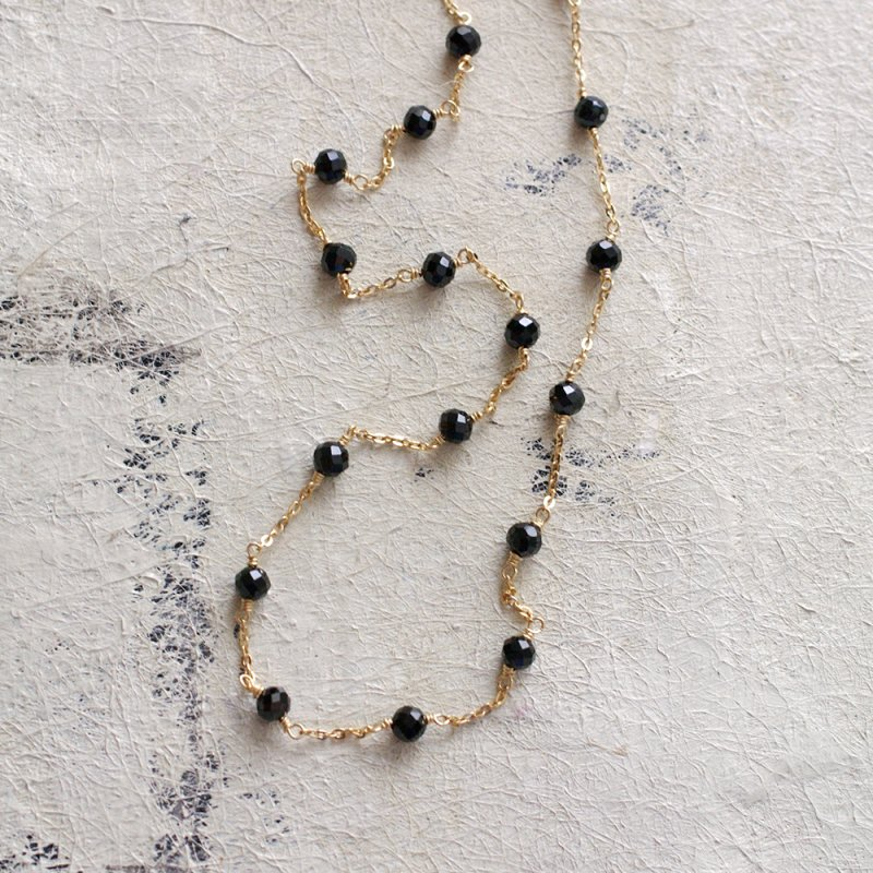 station : Black Spinel(necklace)