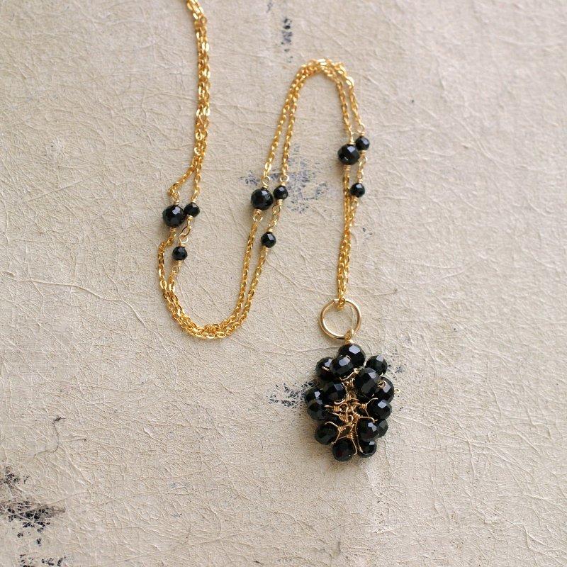 yamabudo : Black Spinel Tama(charms)