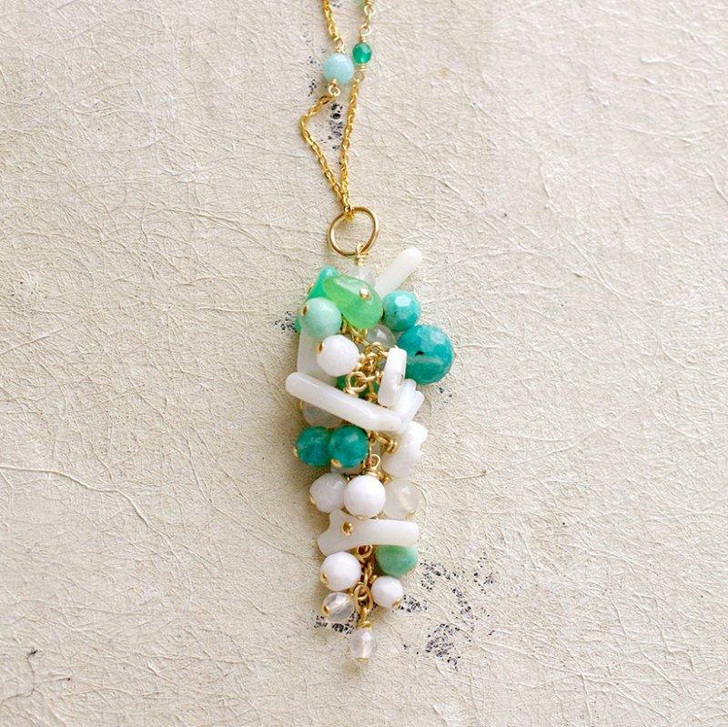 fusa : green Bouquet / 花 長房(charms)