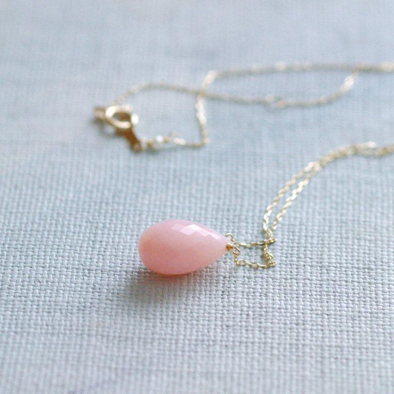 namida : pink Opal -m(necklace)
