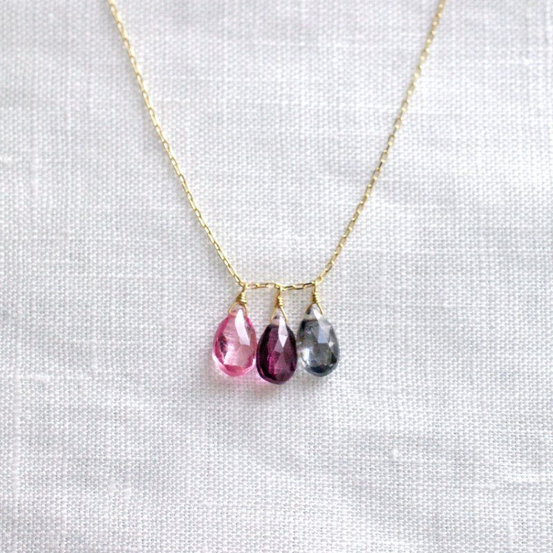 tsubu : Spinel-3(necklace)