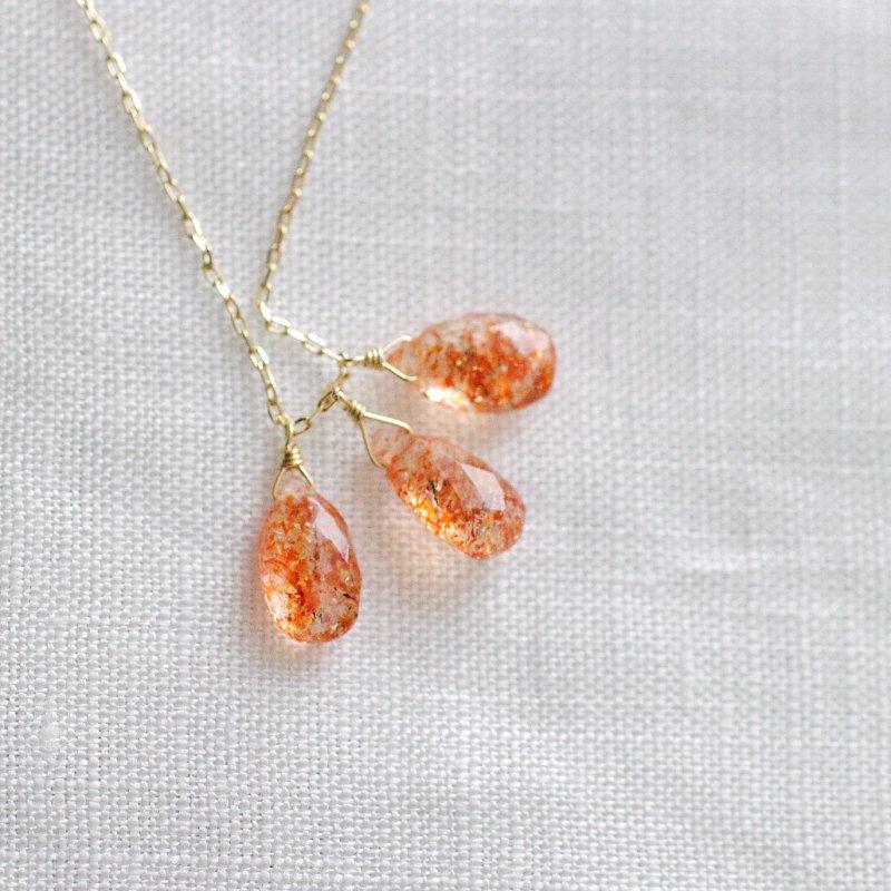 tsubu : Sunstone(necklace)