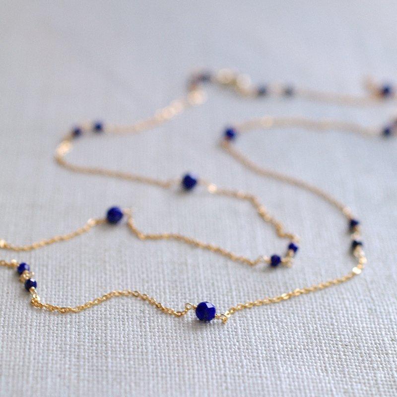 chain : LapisLazuli(necklace)40・50・60 cm