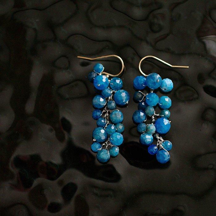 yamabudo : blue & blue(earring)