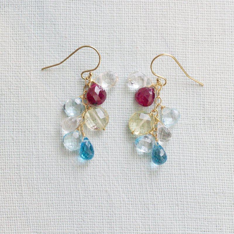 fusa : Ruby, Lemon, Blue(earring)
