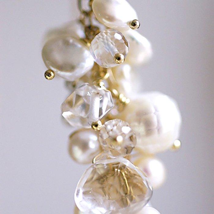 fusa : White Bouquet / L(earring)