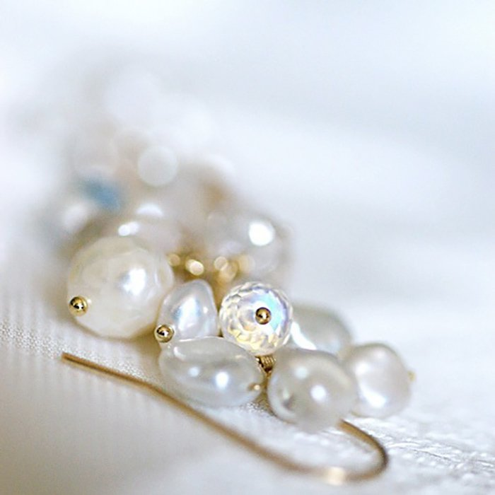 fusa : White Bouquet / S(earring)