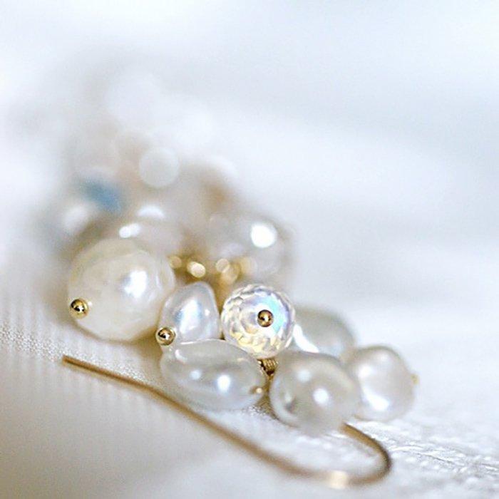 fusa : White Bouquet / S(earring)