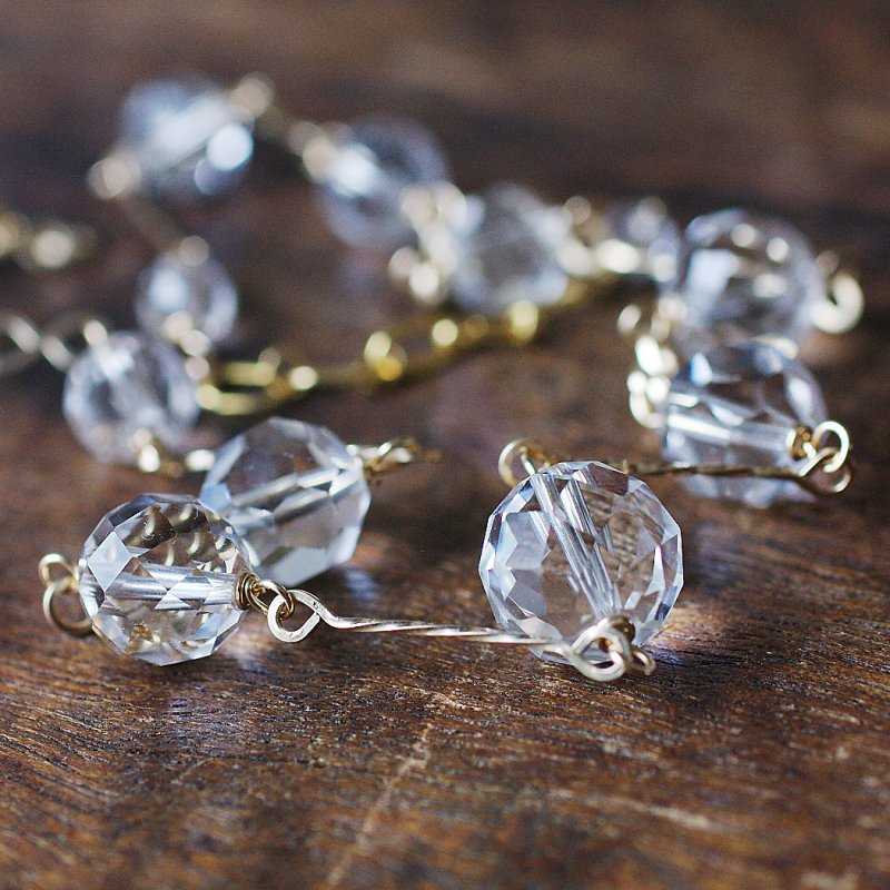 Crystal hineri Choker(necklace)