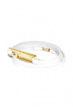 MUZE - MONOLITH BRACELET (WHITE-GOLD)