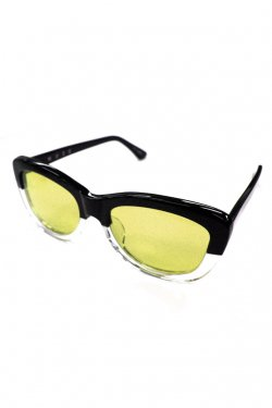"MUZE × INARI - COLLABO EYEWEAR ""MAGRITTE"" (YELLOW)"