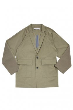 MUZE - RAGLAN TAILORED JACKET (BEIGE)