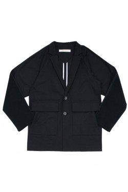MUZE - RAGLAN TAILORED JACKET (BLACK)