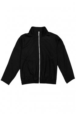 MUZE - TRACK JACKET (H>FRACTAL EXCLUSIVE / BLACK)