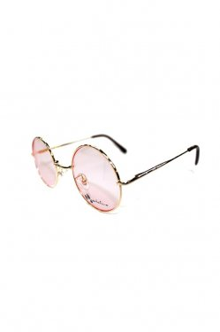 million dollar orchestra - metal flame glasses(Lucifer Arrow / GOLD×LIGHT PINK)