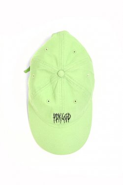 PARADOX×LEGENDA - BREAK LOGO CAP (LIME GREEN)