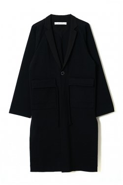 MUZE - PURSE OVER COAT (BLACK)