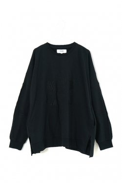 PARADOX - WIDE SWEAT (BLACK)