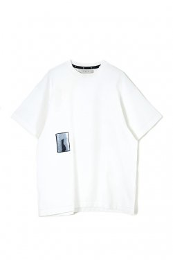 MUZE - REFLECTOR PIECE TEE (WHITE)