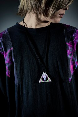 PARADOX×FALILV by FaLiLV TRIANGLE NECKLACE (WHITE)【HFRACTAL OSAKA限定】