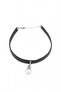 unclod - LIGHT BULB CHOKER (WHITE)