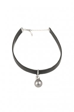 unclod - LIGHT BULB CHOKER (BLACK)