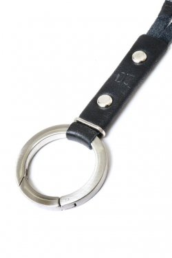 【※受注商品】BLACK TRIANGLE DESIGN - CIRCLE HOOK 2WAY NECKHOLDER / SILVER×BLACK