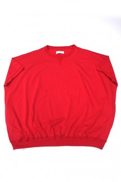 【30%OFF】JieDa - BIG CREW S/S (RED)