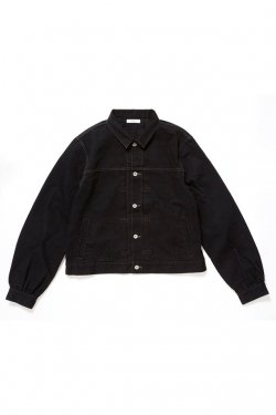 ETHOS - PUFF DENIM JACKET (BLACK)