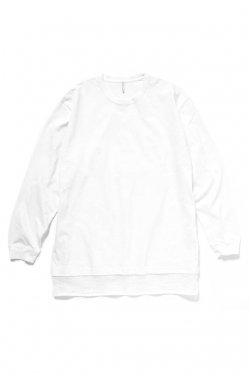 ETHOS - COCOA LONG SLEEVE TEE (WHITE)