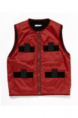 【30%OFF】ETHOS - MULTI VEST (WINE)