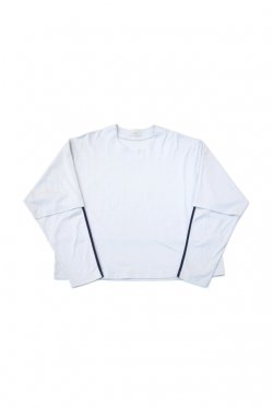 【30%OFF】JieDa - LAYERED T-SHIRT (L/G)