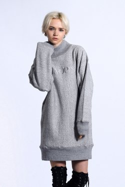 PARADOX - HIGH NECK SWEAT (GRAY)