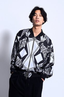 【30%OFF】PARADOX -  GRAPHIC BLOUSON (GEOBOTANICAL)
