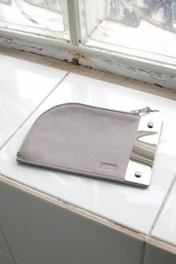 unclod-PILL POUCH [ ASH GRAY ]