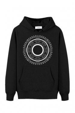 【20%OFF】PARADOX - PULLOVER PARKA(MAGIC CIRCLE/BLACK)