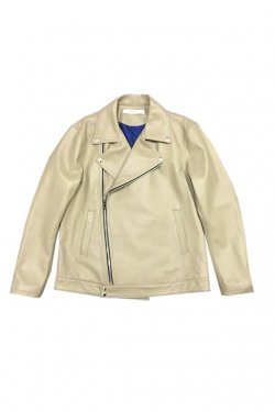 MUZE - MINIMAL BIG RIDERS JACKET (BEIGE)
